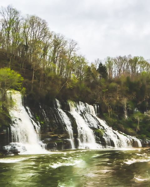 Rock Island State Park in Rock Island Tennessee