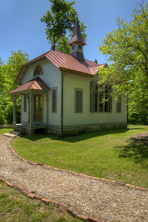 The 1882 Thomas Hughes Free Public Library in Historic Rugby, TN on Saturday, May 25, 2013. Copyright 2013 Jason Barnette