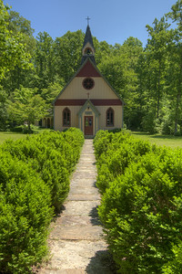 The 1887 Christ Church Episcopal in Historic Rugby, TN on Saturday, May 25, 2013. Copyright 2013 Jason Barnette