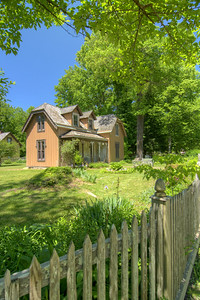 Founder Thomas Hughes' house, the 1884 Kingstone Lisle, in Historic Rugby, TN on Saturday, May 25, 2013. Copyright 2013 Jason Barnette