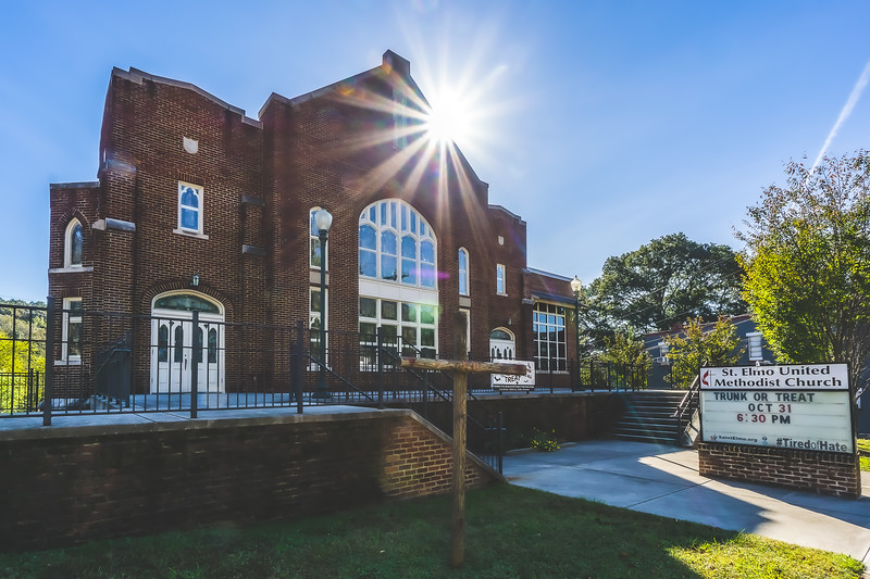 St. Elmo United Methodist Church in Chattanooga Tennessee