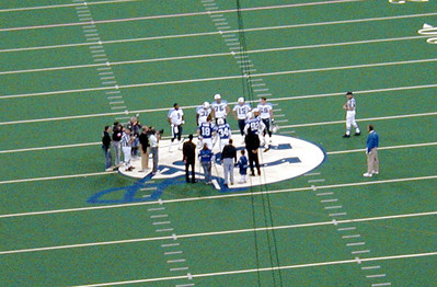 Coin Toss in Indianapolis 2002