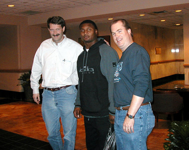 Steve with Daniel and Russ in Indianapolis 2002