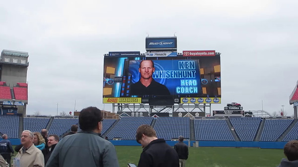 11 2014 Titans Stadium Tour - Coach Whizenhunt Movie