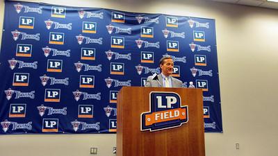 Tennessee Titans' LP Field Stadium Tour March 7, 2013 - Titans VP in Media Room