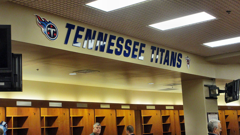 Tennessee Titans LP Field Stadium Tour March 7, 2013 reaganfrazier  free shipping