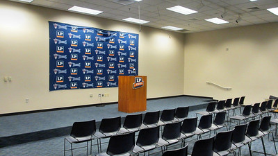 Tennessee Titans' LP Field Stadium Tour March 7, 2013 - Media Room