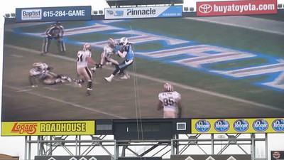 Tennessee Titans' LP Field Stadium Tour March 7, 2013 - Video Board Welcome