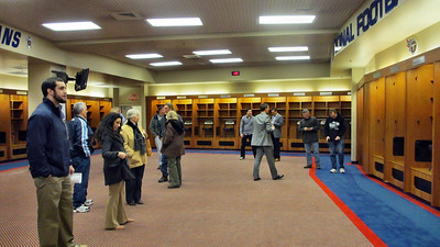 Tennessee Titans' LP Field Stadium Tour March 7, 2013 - Titans' Locker Room