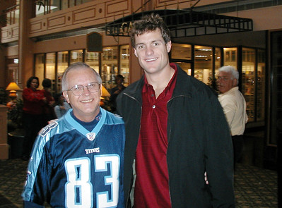 Road Trip to Indianapolis  November 2-3, 2002 / My favorite Titan Drew Bennett