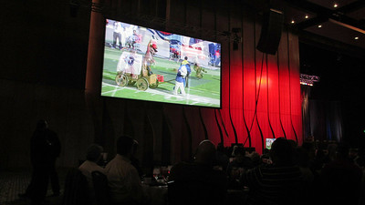 Titans Season Ticket Member Lunch Bash February 18 2014 - Lunch and program in Grand Ballroom of Nashville's Music City Center