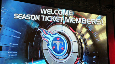 Titans Season Ticket Member Lunch Bash February 18 2014