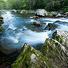 GSM 035                        <br /> Morning light on the Little River, Great Smoky Mountains National Park, Tennessee.