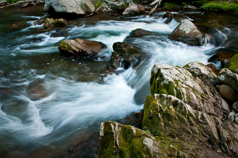GSM 034                         <br /> Morning light on the Little River, Great Smoky Mountains National Park, Tennessee.