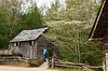 The historic Cable Mill in Cades Cove, The Great Smoky Mountains National Park, USA.