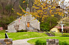 The St. Joseph Catholic Church in Bryson City, North Carolina, USA.