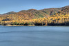 Fall colors fill the edges of Watauga Lake in Hampton, TN on Friday, November 1, 2013. Copyright 2013 Jason Barnette