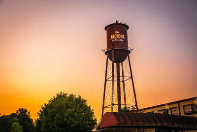 Sunset at the Factory in Franklin, Tennessee
