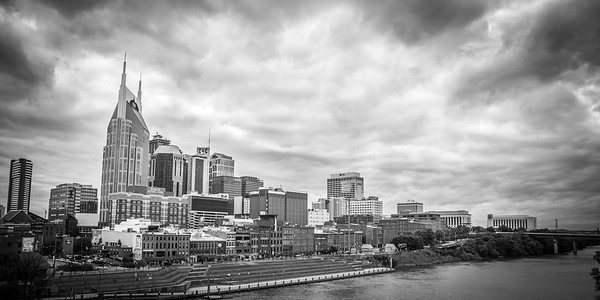 Iconic view of Nashville, Tennessee