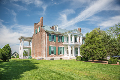 The Historic Carnton Plantation in Franklin, Tennessee