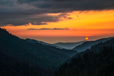 Smoky Mtn Sunset