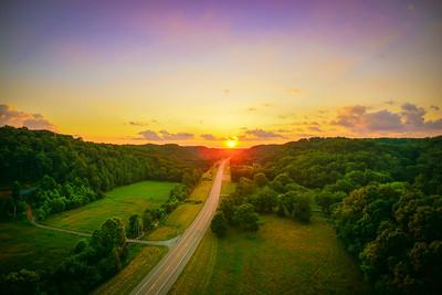 Natchez Trace Sunset