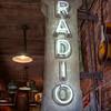 Neon Nashville Radio Sign