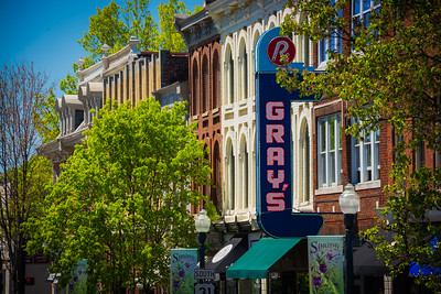 Springtime in Franklin, Tennessee