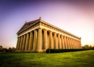 Parthenon Sunrise