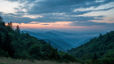 Dawn in the Smokies