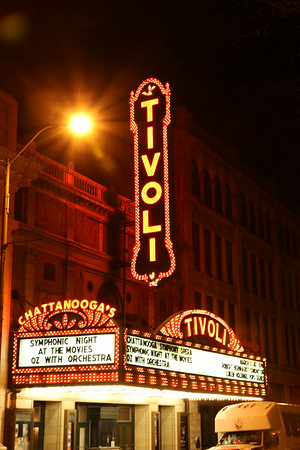 The Tivoli Theater in Chattanooga, TN.