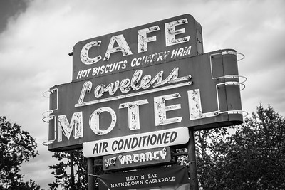 Iconic Loveless Cafe in Nashville, Tennessee