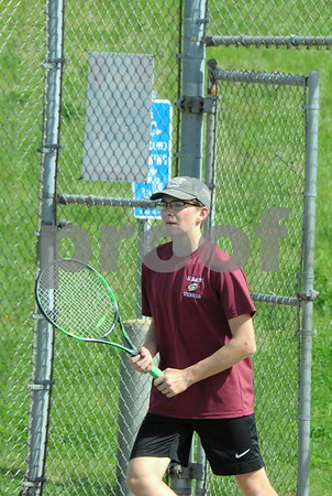 NBHS BOYS TENNIS VS SOUTHINGTON 5-2-18