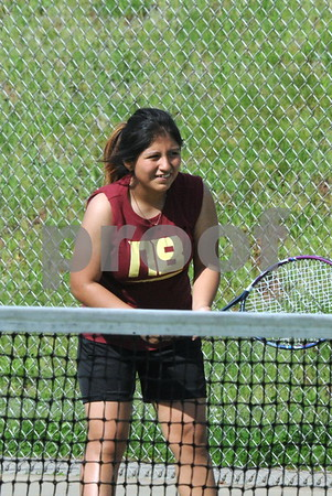 NBHS GIRLS TENNIS VS BLOOMFIELD 5-8-18