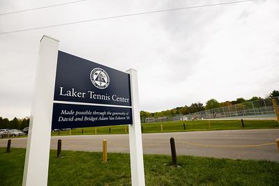 Tennis Center Dedication
