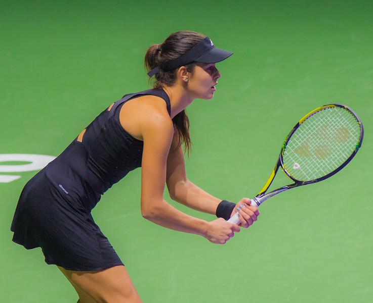 Ana Ivanovic in focus