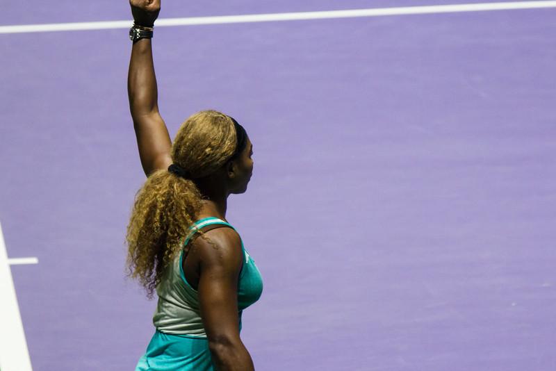 Famous Serena Reaction
