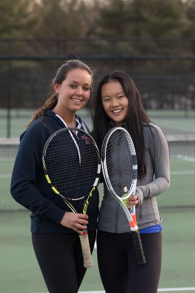 Tennis in February