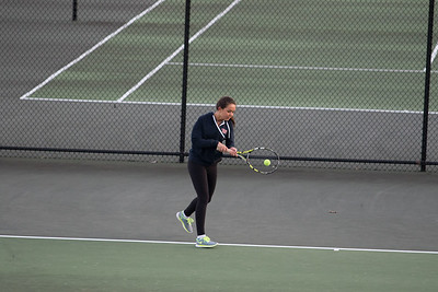 Tennis in February