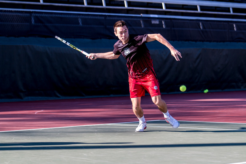 Alex Phillips - UGA Men's Tennis Team (Photo by John Paul Van Wert / Georgia Sports Communication)