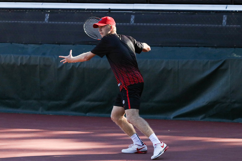 Walker Duncan - Georgia men's tennis team (Photo by Cory A. Cole / Georgia Sports Communications)