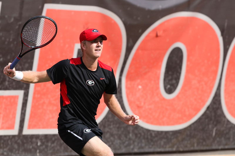 Walker Duncan - UGA men's tennis team (Photo by Cory A. Cole/Georgia Sports Communication)
