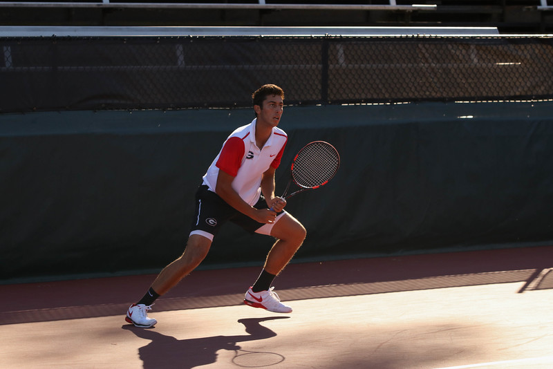 Emil Reinberg  - Georgia Men's Tennis Team -   (Photo by Cory A. Cole / Georgia Sports Communication)