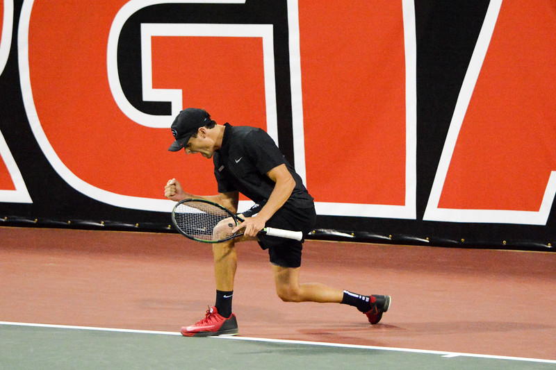 Wayne Montgomery  - UGA MEN'S TENNIS TEAM -  (Photo from Georgia Sports Communication)