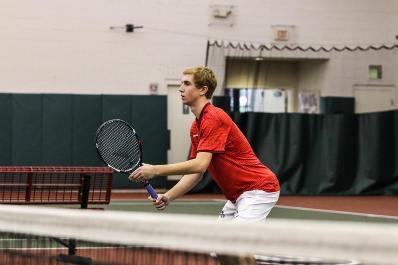 Robert Loeb UGA men's tennis team (Photo by Cory A. Cole / Georgia Sports Communication)