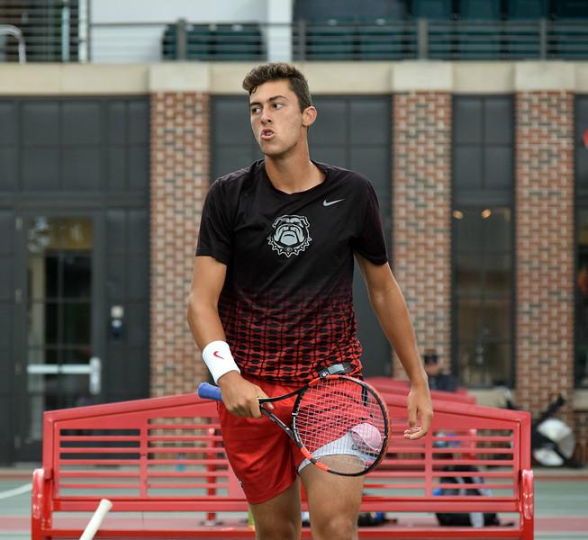 Emil Reinberg   - Georgia Men's Tennis Team -   (Photo by Steven Colquitt / Georgia Sports Communication)