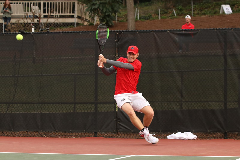 Walker Duncan - UGA men's tennis team (Photo by Cory A. Cole / Georgia Sports Communications)