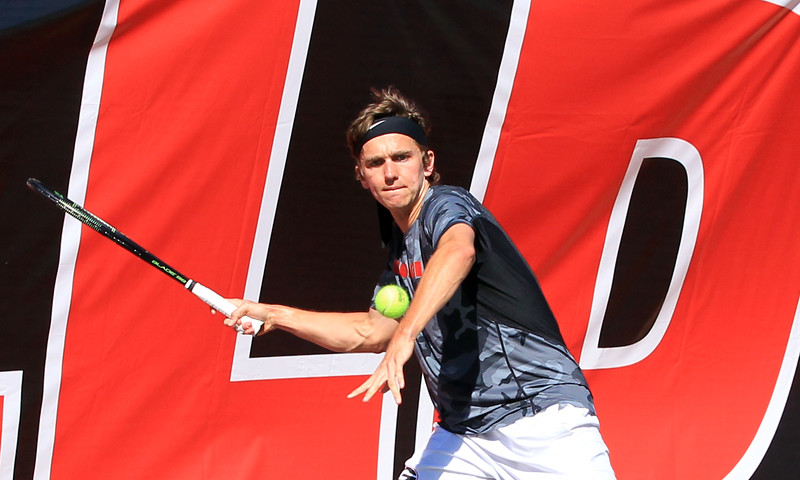 Nathan Ponwith - UGA men's tennis team (photo from Georgia Sports Communication)