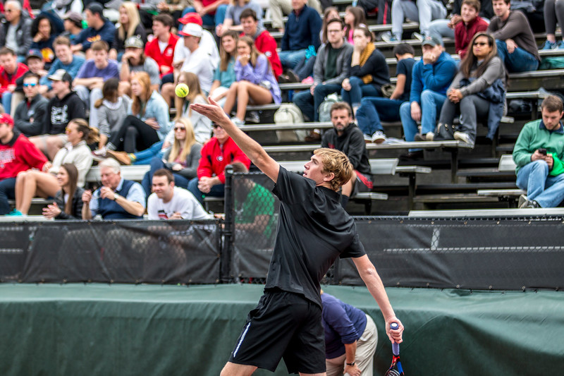 Robert Loeb - UGA men's tennis team (Photo by John Paul Van Wert / Georgia Sports Communication)