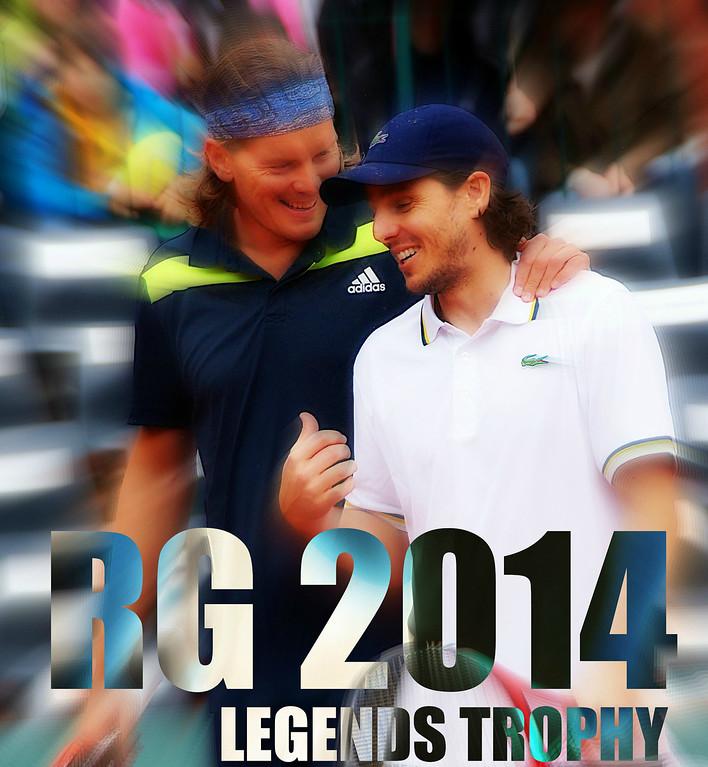2014 Roland Garros LEGENDS TROPHY